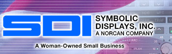 Symbolic Displays, Inc. - aircraft EXIT signs, avionic displays, aircraft panels and illuminated keyboards